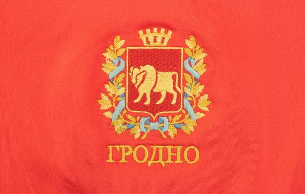 герб гродно, гродненской области, вышивка