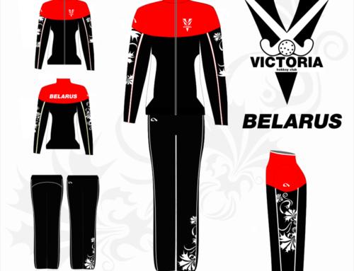 Дизайн логотипа и формы хоккейного клуба «Виктория»